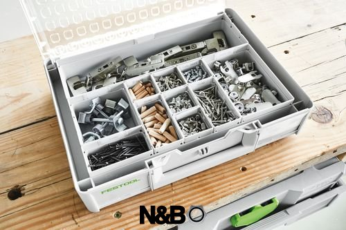 FESTOOL Systainer ³ Organiseur sys3 ORG M 89 22 xesb